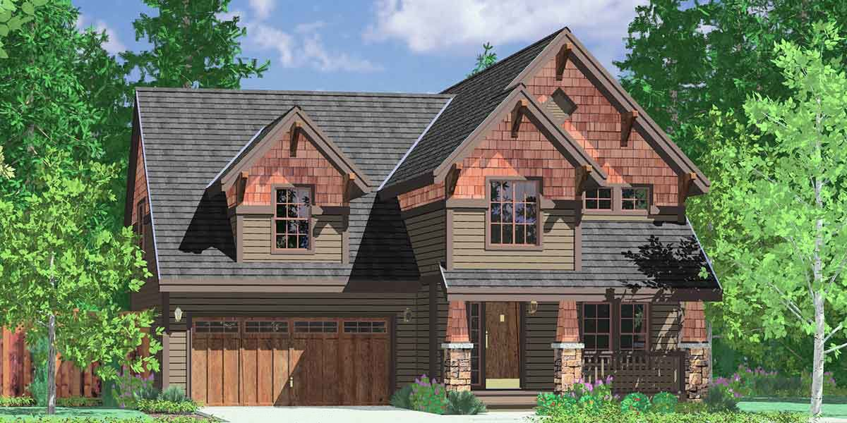 Plan 8177lb Centralized Laundry A Plus House Plans Craftsman House Craftsman House Plans