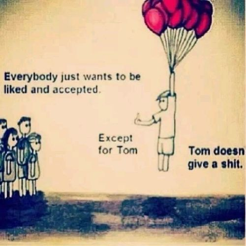 Tom is my inspiration