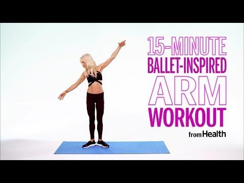 LEKfit's 15-Minute Arm Workout | Health - YouTube #pilatesworkoutvideos
