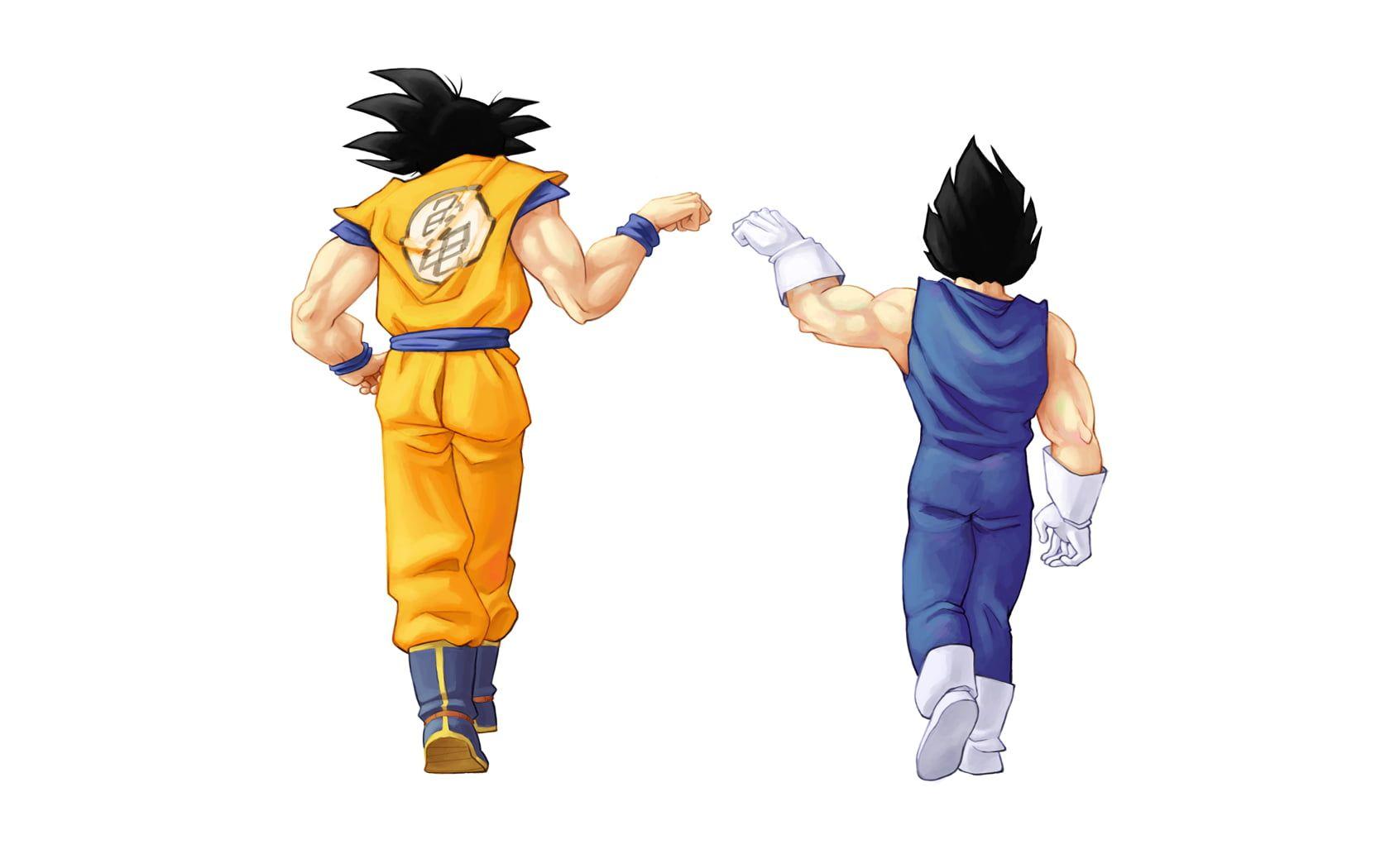 Son Goku And Vegeta Illustration Dragon Ball Son Goku Vegeta Anime Boys Anime 720p Wallpaper Hdwallpap Goku And Vegeta Dragon Ball Anime Dragon Ball Super