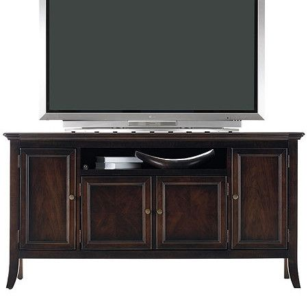 I pinned this stanley furniture hudson media console i - Bathroom vanities nebraska furniture mart ...