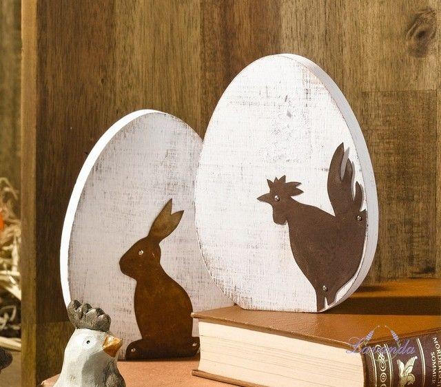 Veľkonočná Dekorácia, Vajíčko Shabby Chic