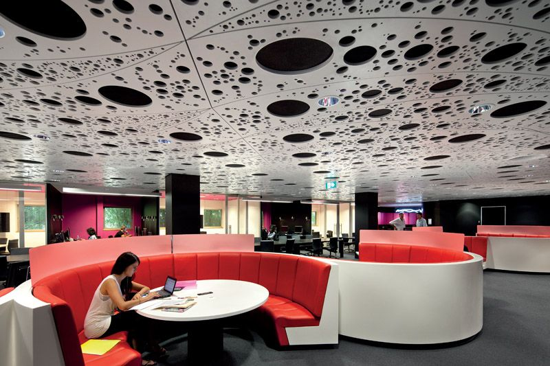 Brownless Biomedical Library At The University Of Melbourne Medical School Australia Coolest