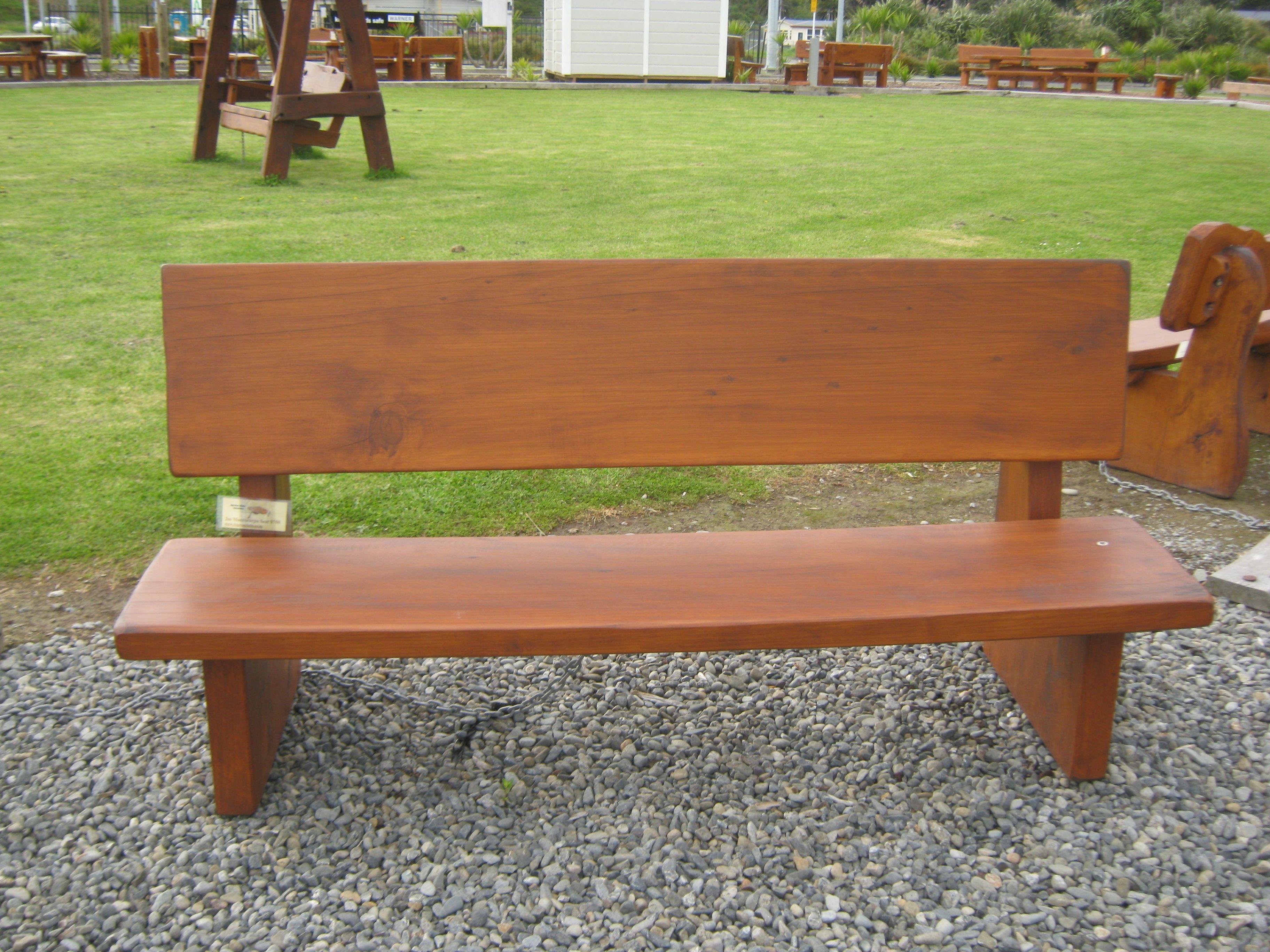 Wooden Garden Bench Seat Nz. Christchurch Canterbury
