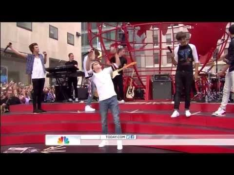 One Direction - Kiss You on Today Show August 23, 2013