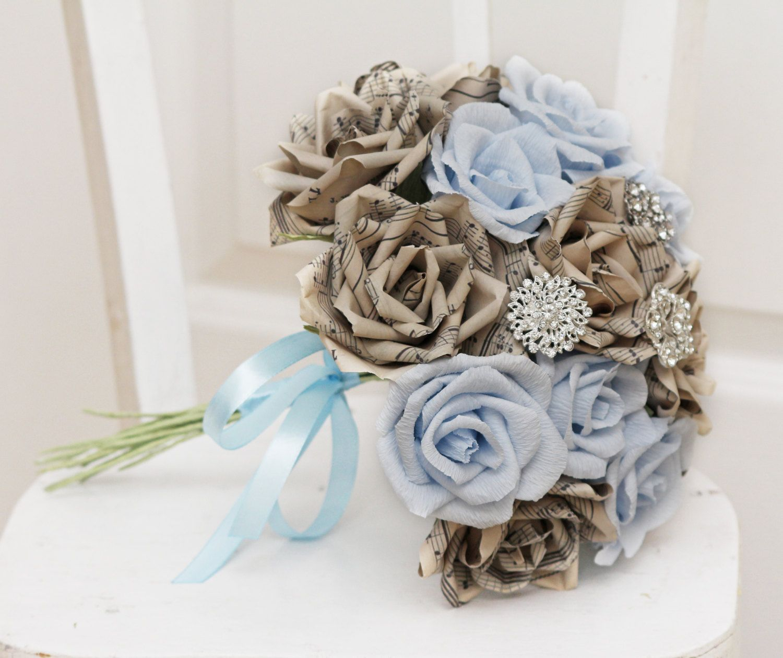 Brooch Bouquet Wedding Bouquet Bridal Bouquet By Flowerdecoration