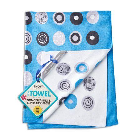 Skoy EcoFriendly Dish Cloth, Blue Blue towels