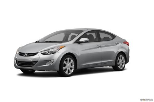 2012 Hyundai Elantra In Radiant Silver Edmunds Best Of 2012 Family