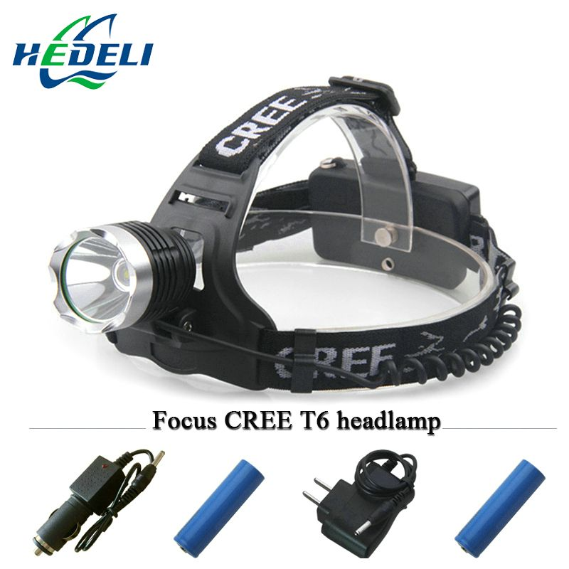 Lantern Xml T6 Headlamp Led Headlight Cree Head Lamp Frontal Torch
