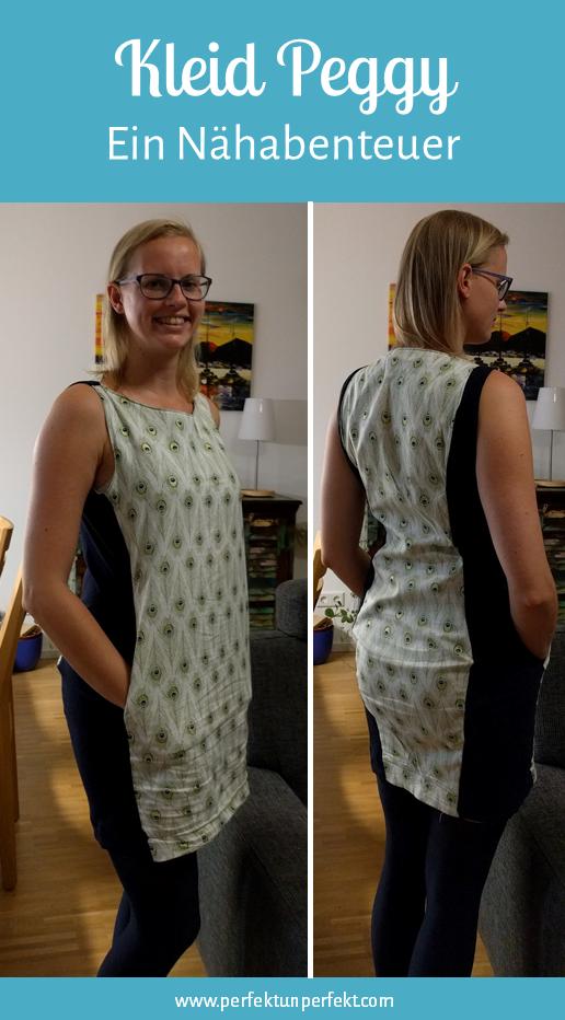 Kleid Peggy nähen für Anfänger, DIY, Erfahrung, Anleitung, Damen ...