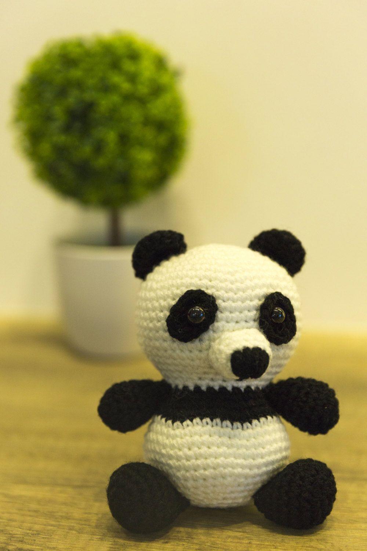 Crochet Bak Choi Panda Pattern, Amigurumi, cute, handmade, gift ...