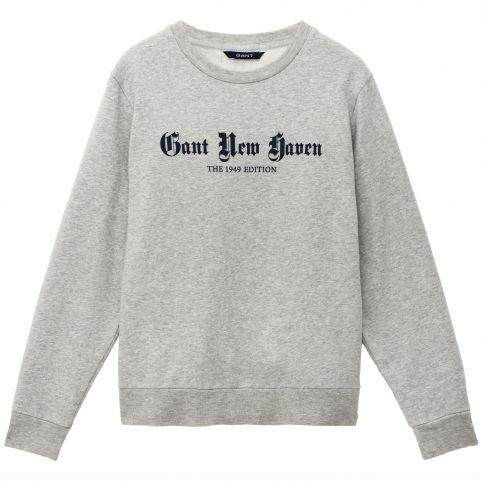 dam's Sweatshirt i bomull med vid passform