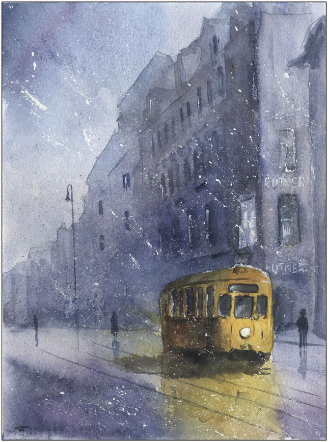 Stary katowicki tramwaj - Grzegorz Chudy