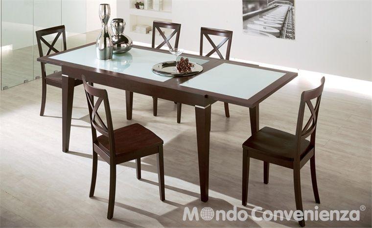 Tavoli e sedie moderno horizon mondo convenienza la nostra forza il prezzo home and - Mondo convenienza tavoli e sedie ...