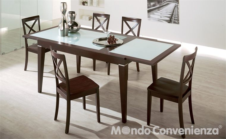 Tavoli e sedie Moderno Horizon Mondo Convenienza