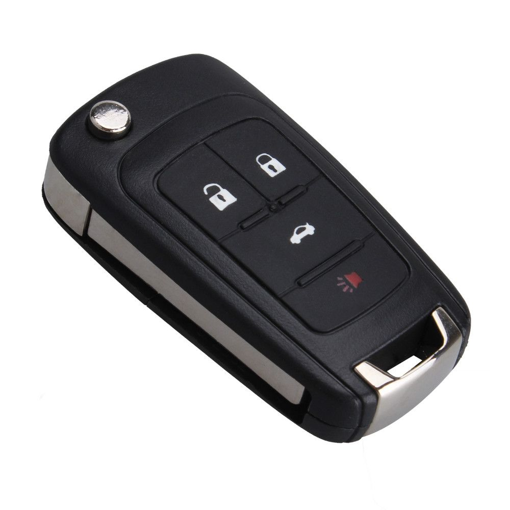 4 Buttons Folding Flip Remote Key For Chevrolet Sonic Cruze Camaro