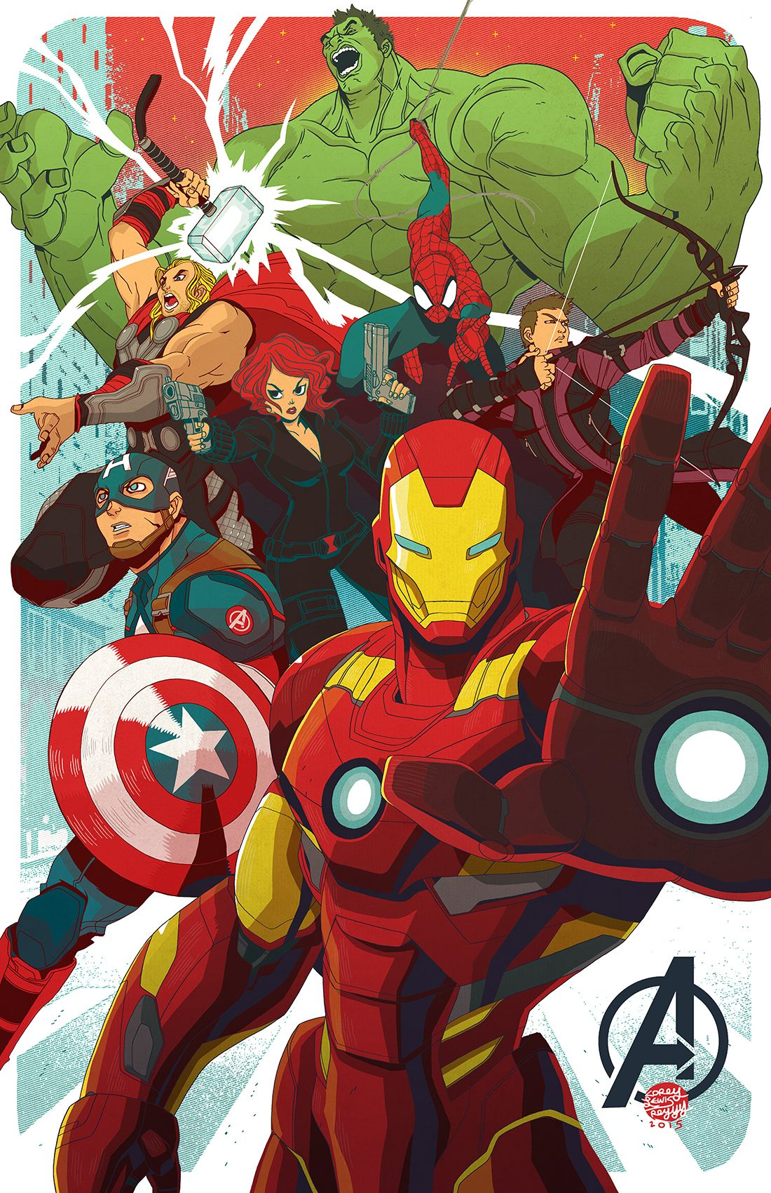 Avengers Print Available At Emerald City Comic Con Table Dd 10