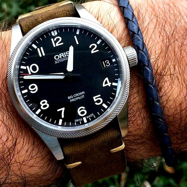 Oris Big Crown Propilot Date 1 000 Watches For Men Classic Watches Oris Watches