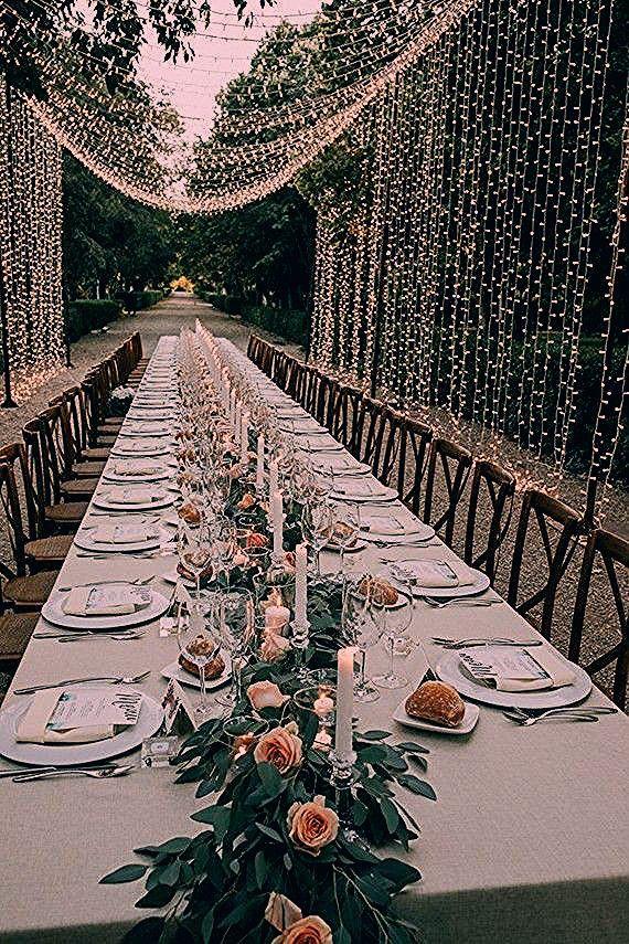 Photo of Elegante Garten Hochzeit In Spanien | Undbraut.com