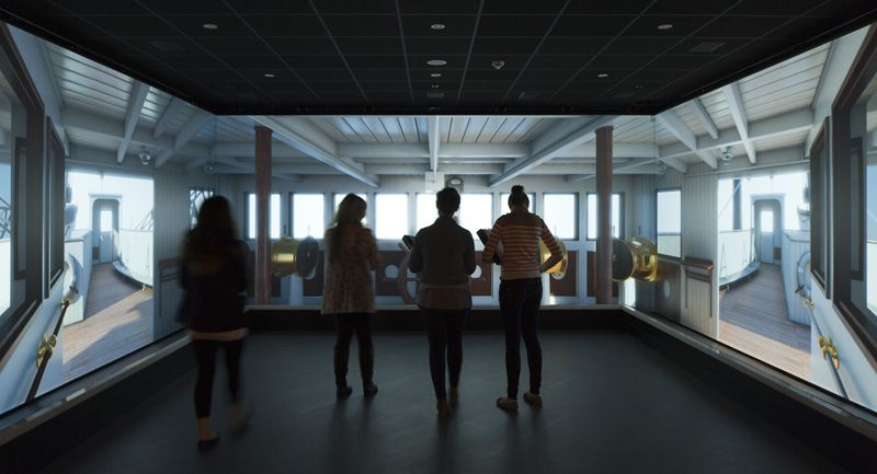 Titanic Belfast Interactive Exhibit