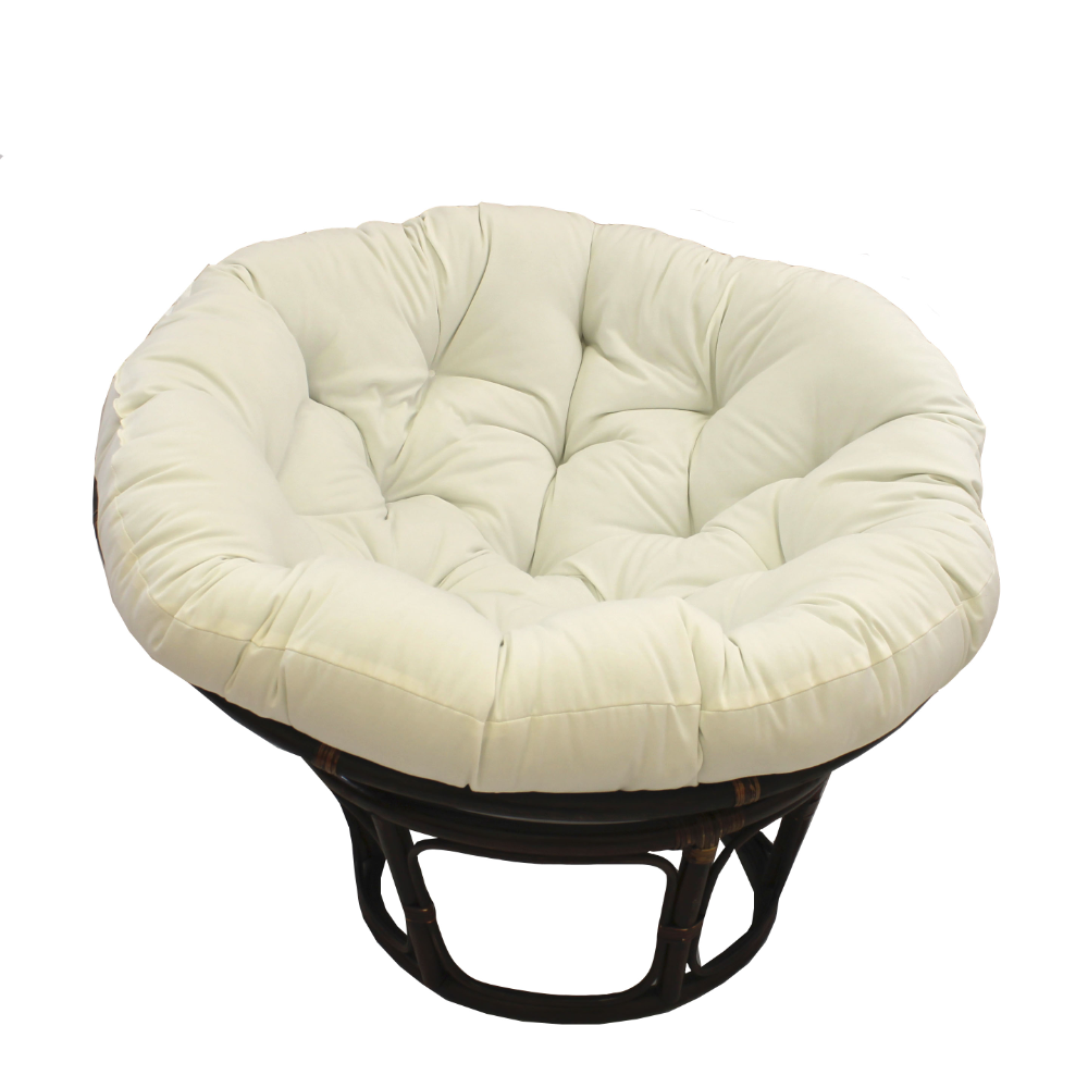 Details About 44 Inch Solid Twill Papasan Cushion Fits 42 Inch