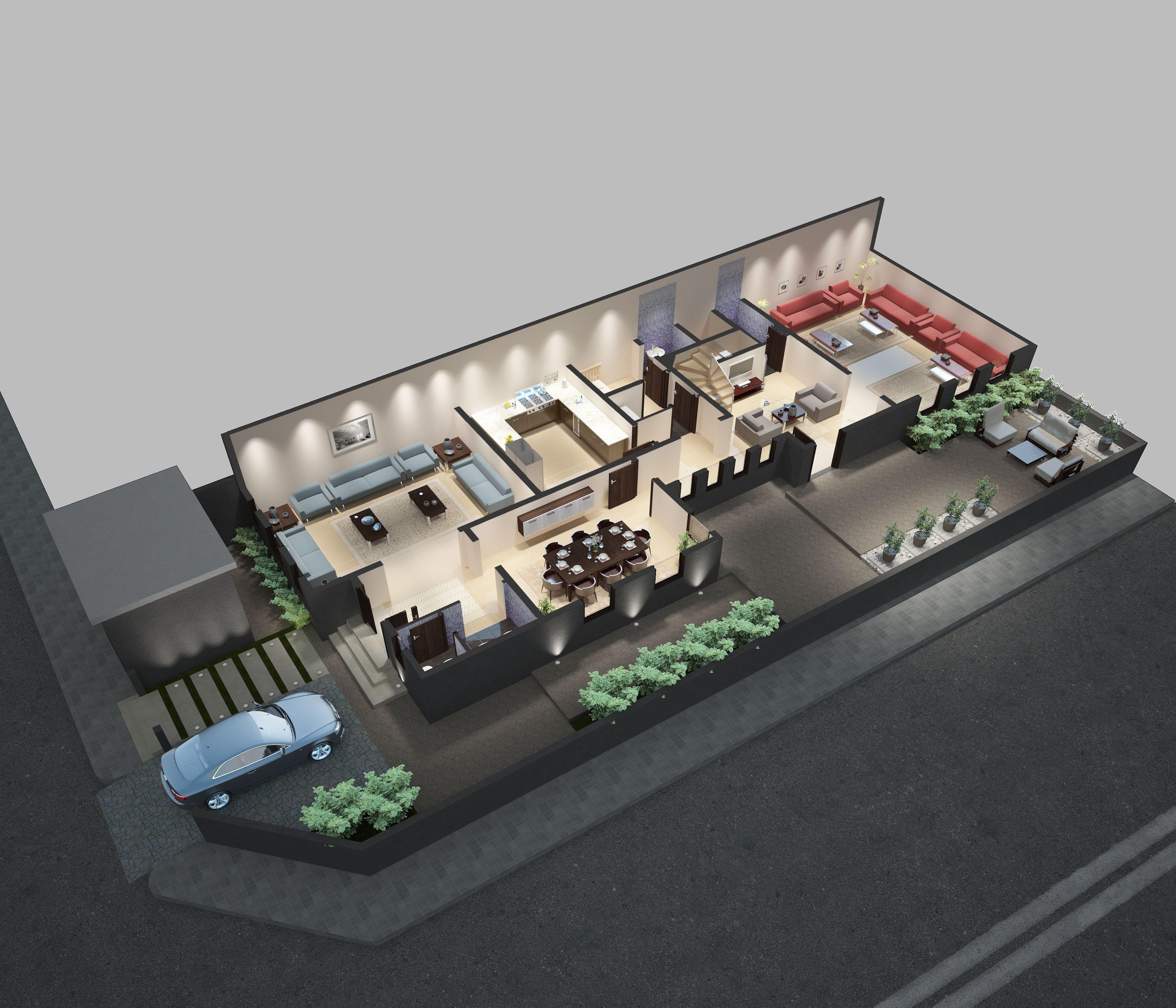 التصميم الداخلي للدور الارضي B رياس العقارية رياس جدة عقار عائلة حلم مستقبل بيت منزل ديكورات House Styles House Home
