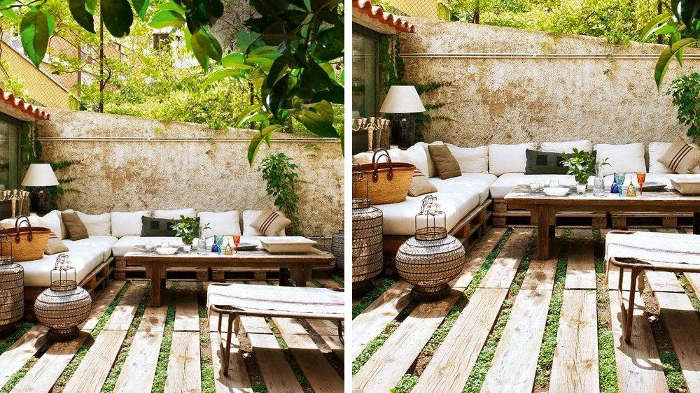 De belles terrasses pour s inspirer palette boh me et - Les plus belles terrasses ...