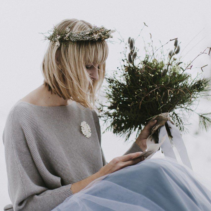 14 brides who nailed cool-girl wedding hair | bride
