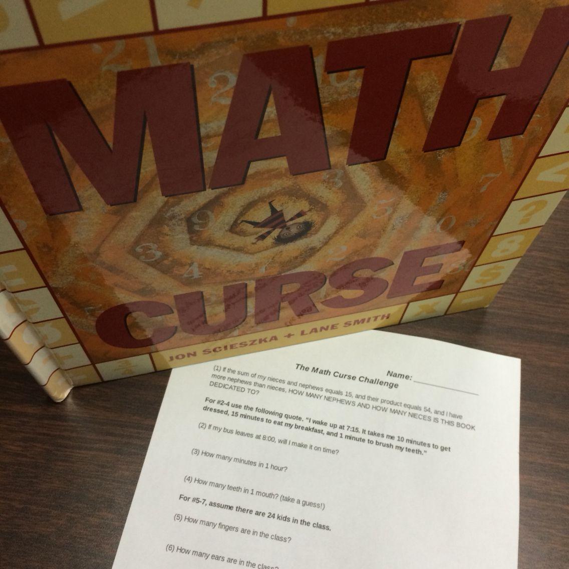 Math Curse Challenge Questions