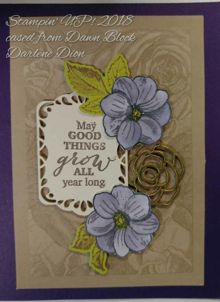 May Good Things Grow ppMAR18, gold EP, Wisteria Wonder ink