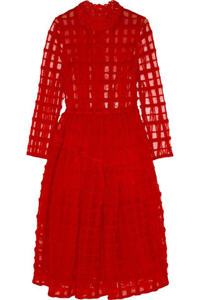 Simone Rocha dress, $3,110, net-a-porter.com.    - HarpersBAZAAR.com