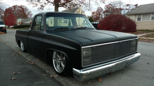 1985 Chevrolet C10 Shortbed Airride Pickup For Sale Photos
