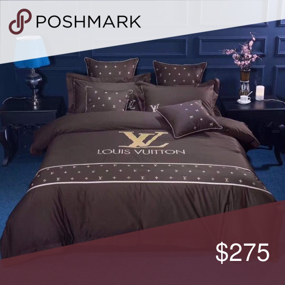 Louis Vuitton Bedding Set King Or Queen Size Bedding Duvet Set Louis Vuitton Other Bed Design Duvet Bedding Sets Bed