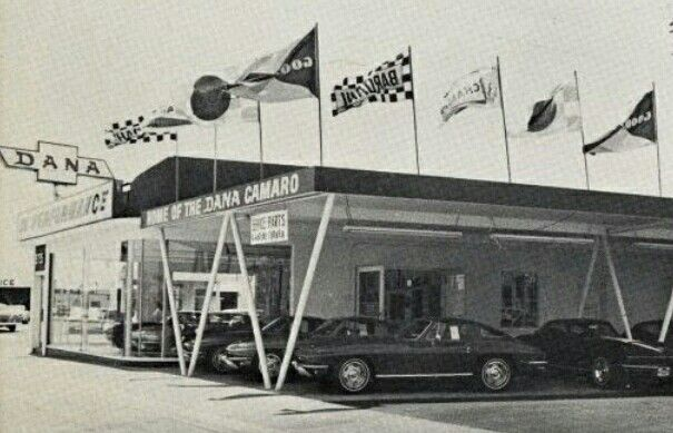 1960 S Dana Chevrolet Dealership South Gate California
