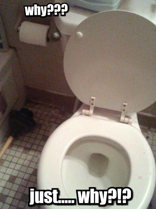 Worst Placement Ever Toilet Big Bathroom
