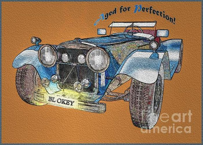 Aged For Perfection Greeting Card by Eleni Mac Synodinos