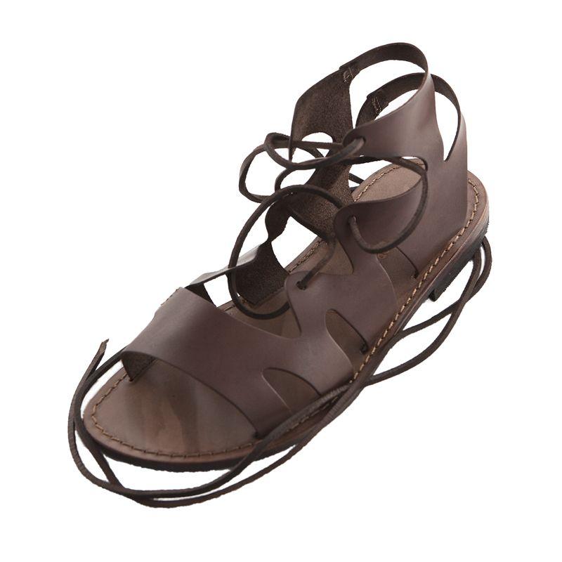 Sandalo chiuso dietro Caffe marrone da uomo in 2020