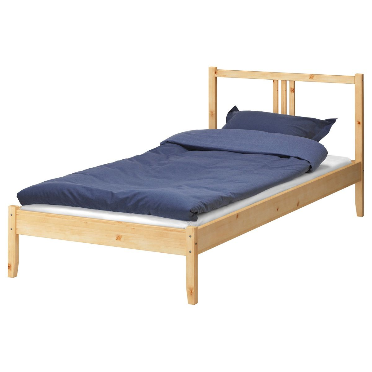 How To Seriously Upgrade A Basic 40 Ikea Fjellse Twin To A Beautiful Cane Bed Ikea Twin Bed Ikea Bed Frames Single Bed Frame Ikea