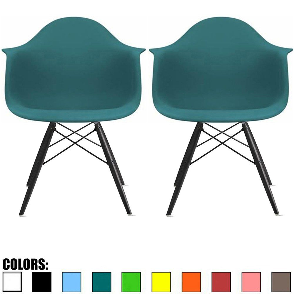 teal office chair on wheels