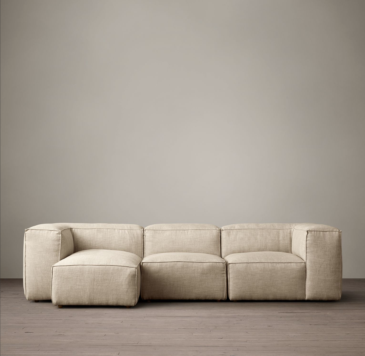 Fabulous Fulham Upholstered Left Arm Chaise Sectional Nest Chaise Caraccident5 Cool Chair Designs And Ideas Caraccident5Info
