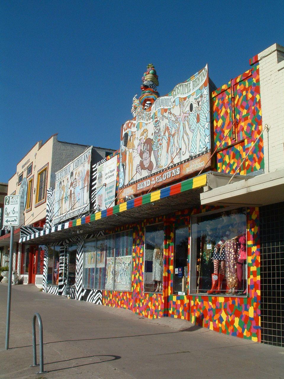 Austin Street Stores : austin, street, stores, (South, Congress), Neighborhood, Austin, Small, Planet, Guide, Shopping,, South, Congress, Austin,, Downtown