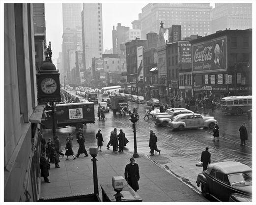 34th Street 8th Avenue 1950 Chelsea Manhattan New York Ny New York Pictures Chelsea Ny New York Soho