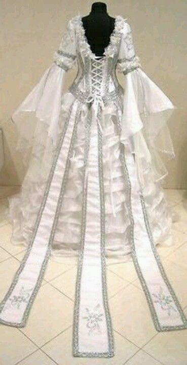 Anime Celtic Wedding Dresses