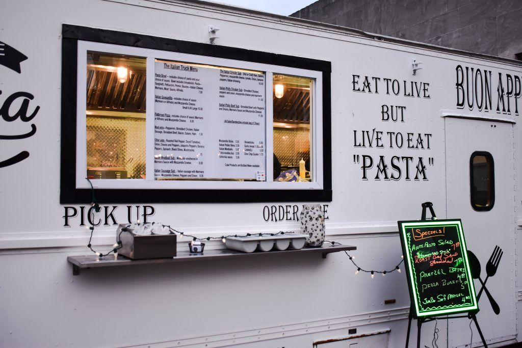 Food truck of the month the italian truck with images