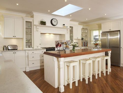 French Provincial Kitchen Designed By Brian Patterson Nouvelle Designer Kitchens Jpg This Is Doable We D Just Need To Knock Down All Of The Downstairs