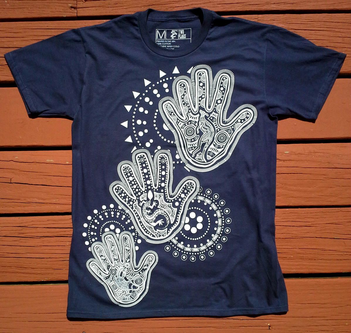 Dot painting  shirt for men sizes small medium large aboriginal also best australian clothes images in rh pinterest