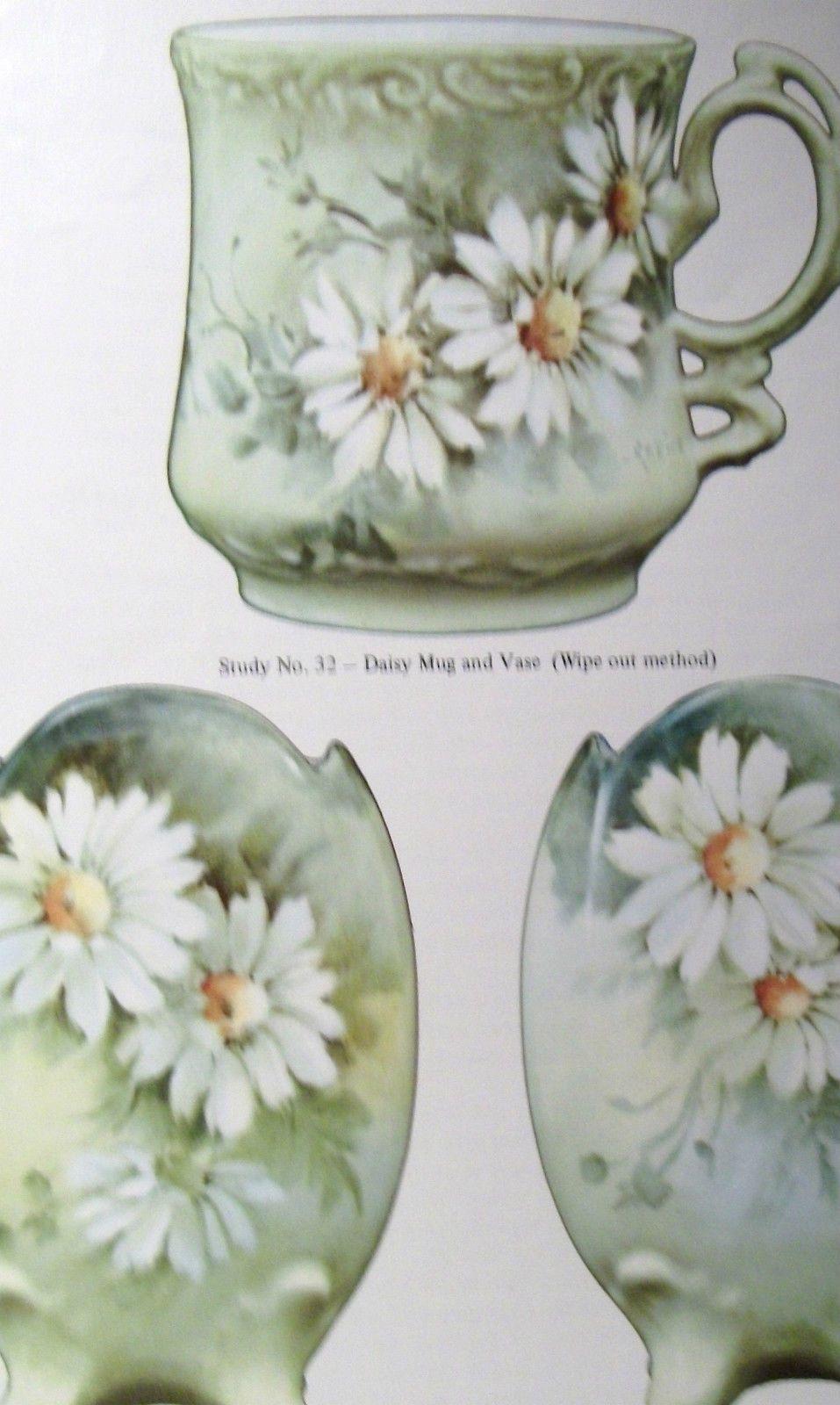 China Painting 12 Studies By Geraldine Rarick Ebay China Painting Flower Art Painting