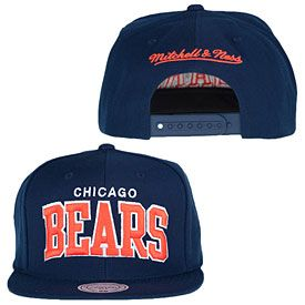 Get this Chicago Bears Arch Solid Snapback Adjustable Cap at ChicagoTeamStore.com