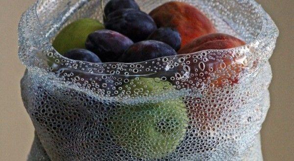 Una manualidad ecológica: Bol realizado con una botella plástica | Mas que Manualidades
