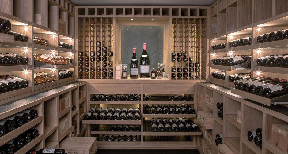 Cave A Vin Sur Mesure En Chene Clairluxembourg 2015 Degre 12